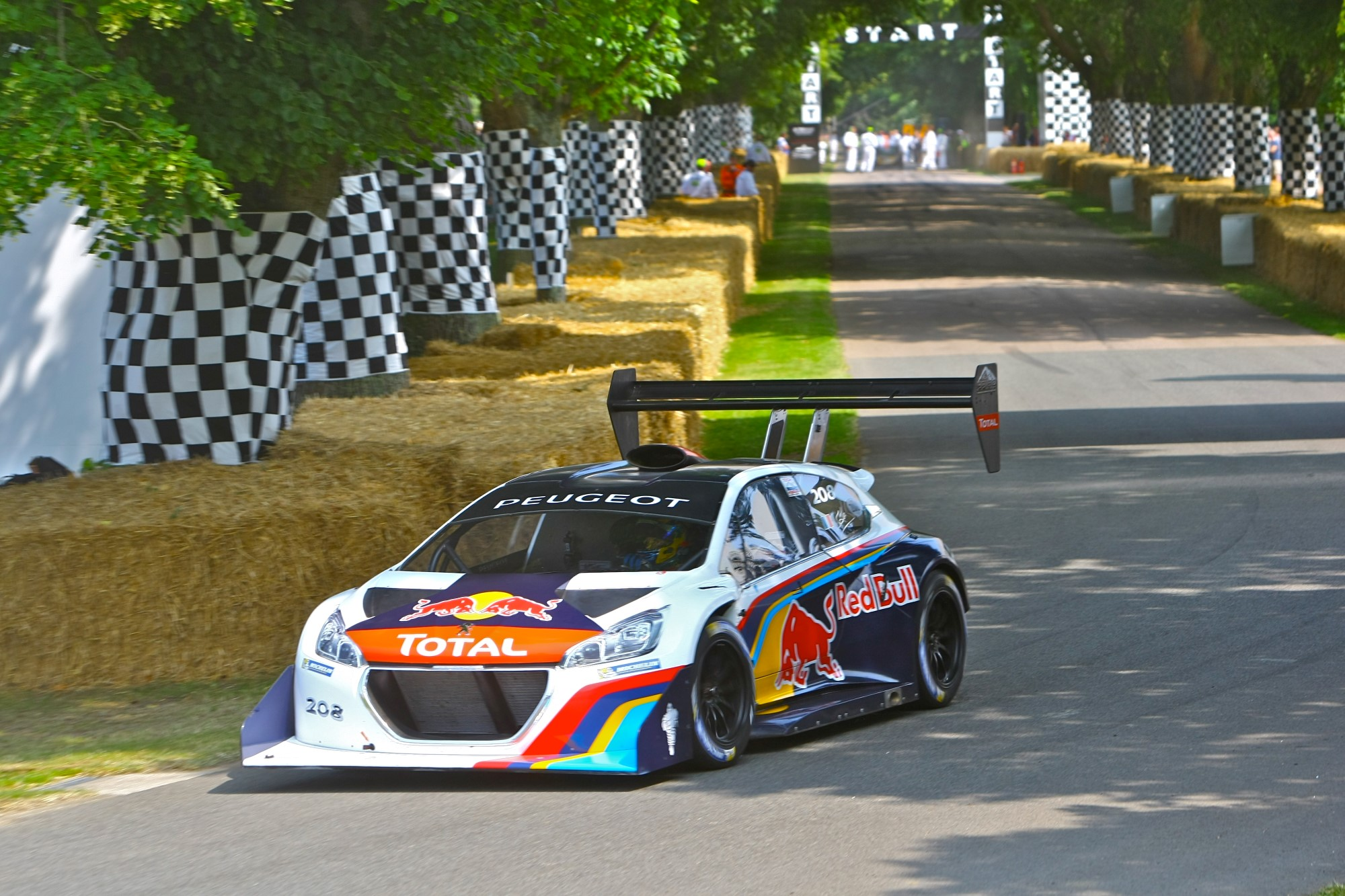 Loeb And Peugeot Pikes Peak Car Set For Record Goodwood