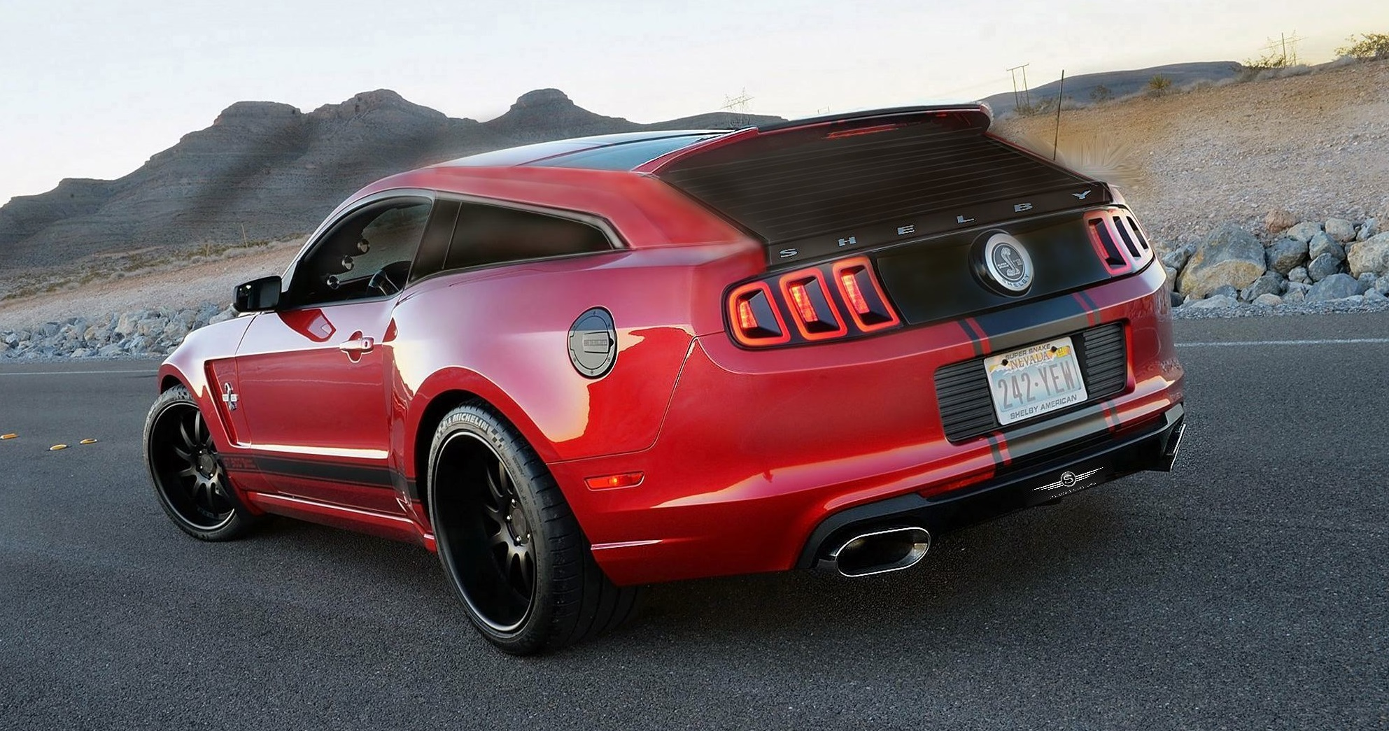 1088066 mustang Gt500 Shooting Brake Is Vaporware But We Want It Anyway on 1965 vw super beetle interior