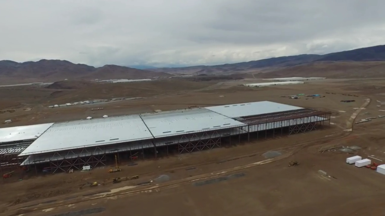 Tesla Gigafactory As Photographed By Drone May 17 2015