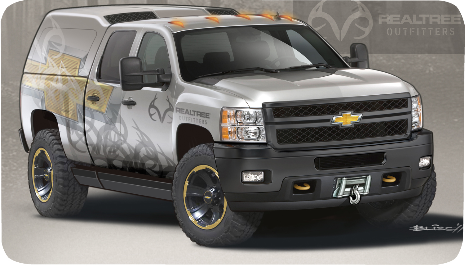 The 2012 Chevy Silverado 2500 Hd Realtree Concept Image Gm