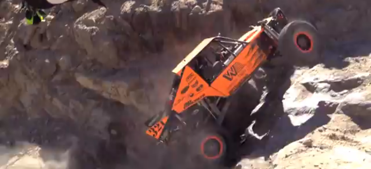 Watch A Truck Drive Up A Rock Face At King Of The Hammers Video