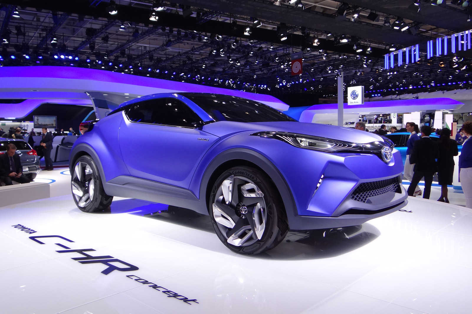 Toyota C-HR Concept Previews Future Subcompact Crossover: Live Photos & Video