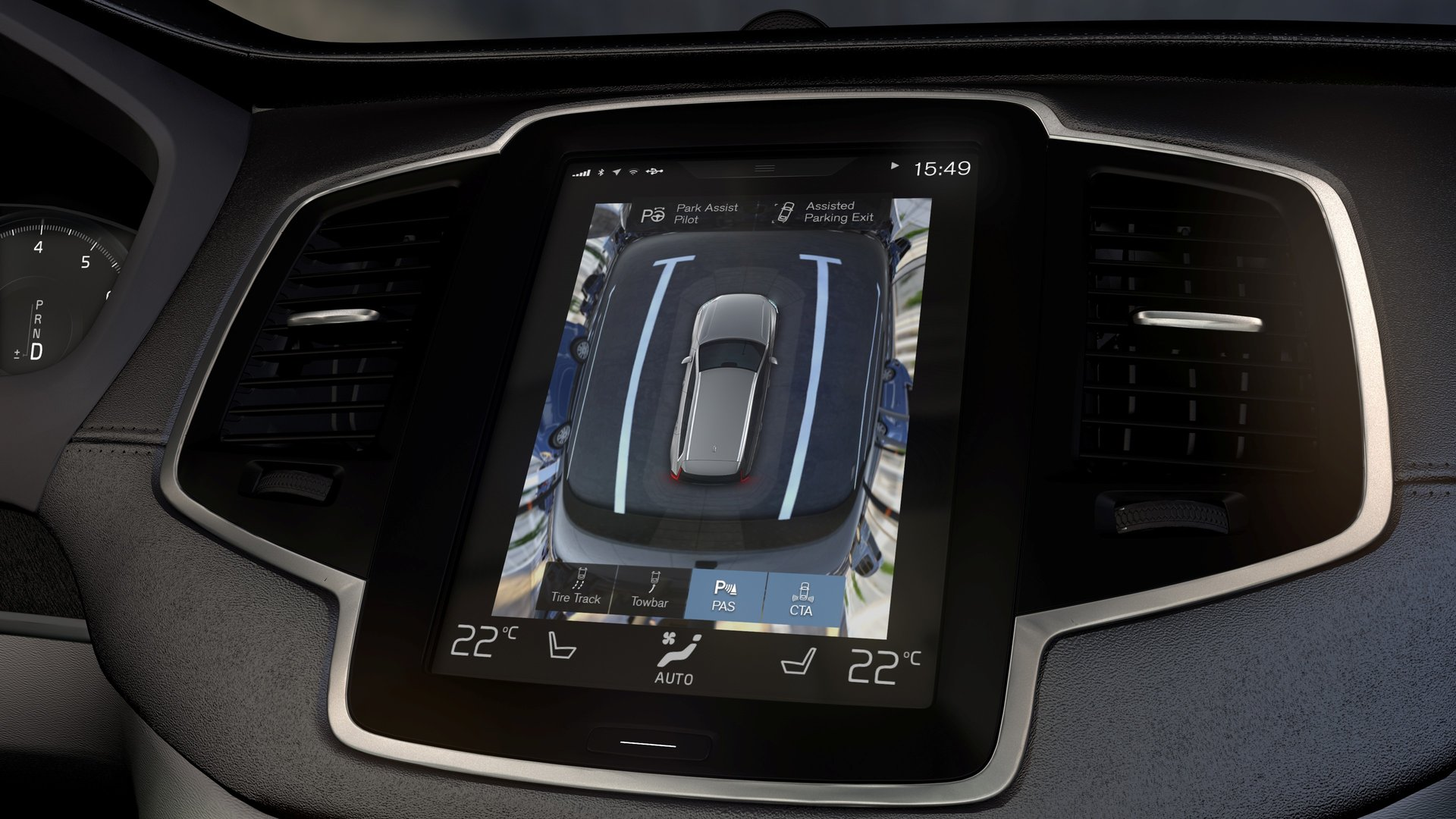 2016 Volvo Xc90 Tablet Like Sensus Is The Future Of