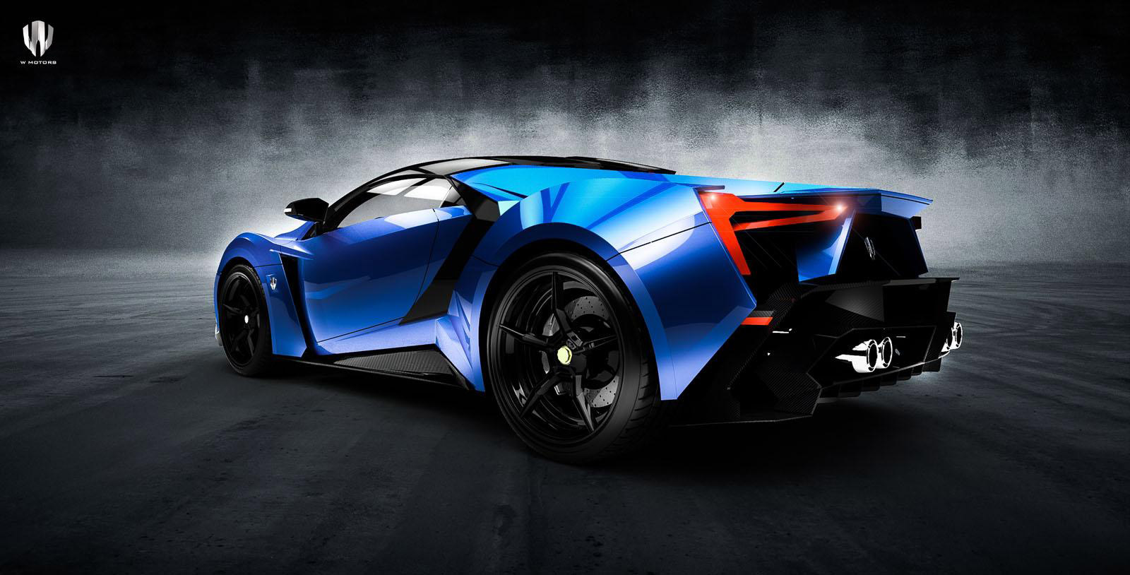 First Look At W Motors Next Model The Lykan Supersport