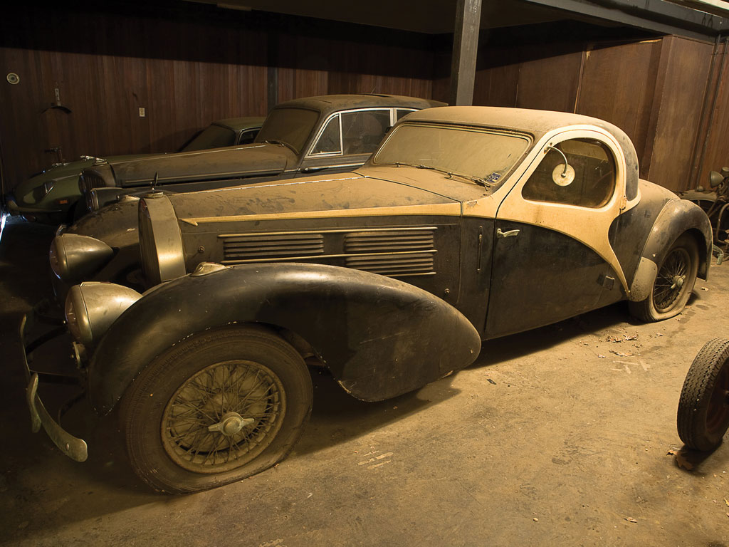 1938 bugatti type 57c atalante up for auction for Motor city barn finds