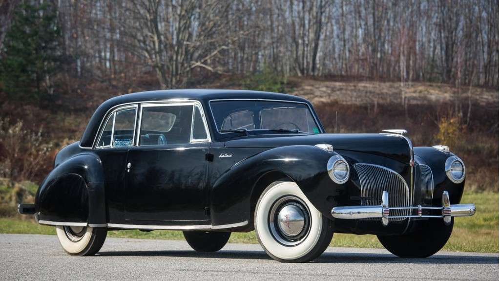 Image 1941 Lincoln Continental Coupe As Seen In The
