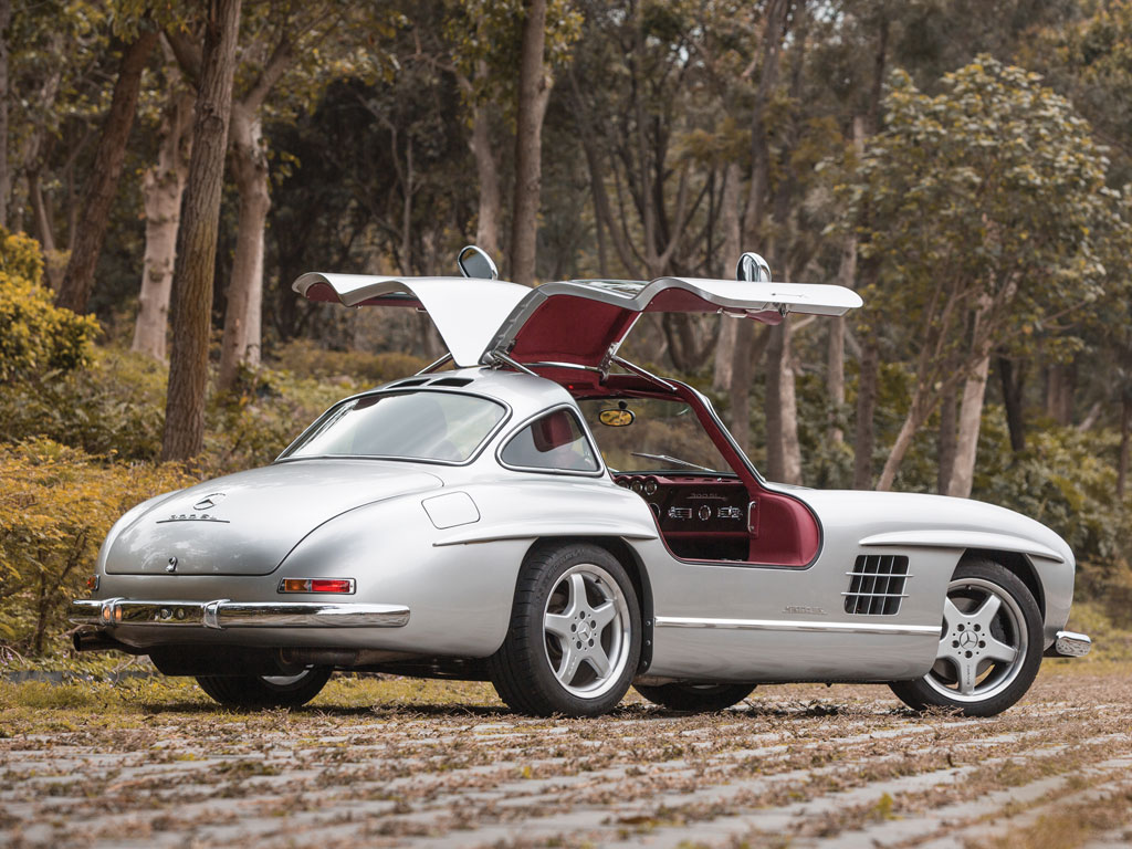 One Of Eleven AMG Modded Mercedes Benz 300SLs Up For Sale