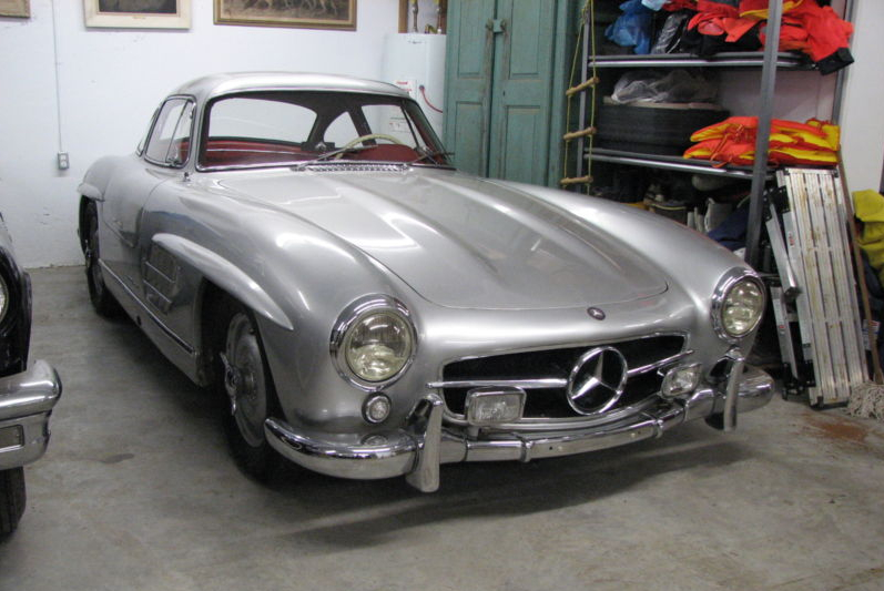 1956 mercedes benz 300sl barn find