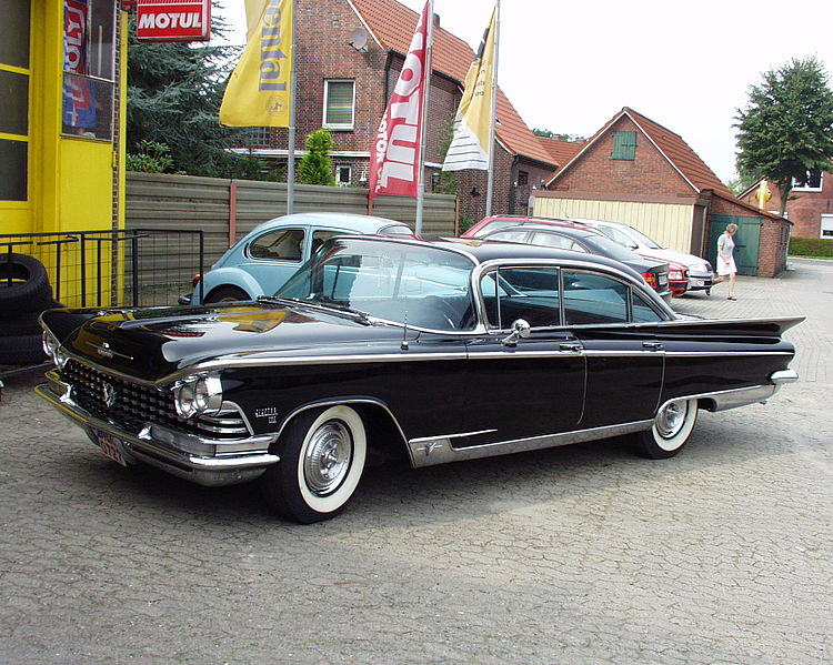1959 Buick Electra 225 Riviera Sedan. Photo by Nimmerya, licensed under CC-BY-SA-2.0-DE.