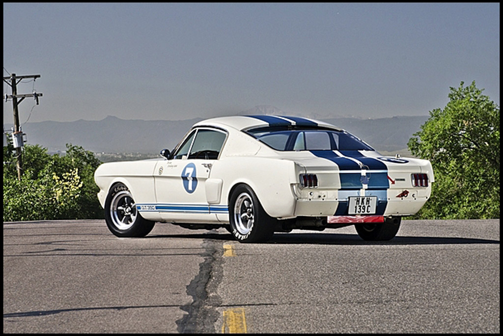 1965 Shelby Mustang Gt350 Once Owned By Sir Stirling Moss