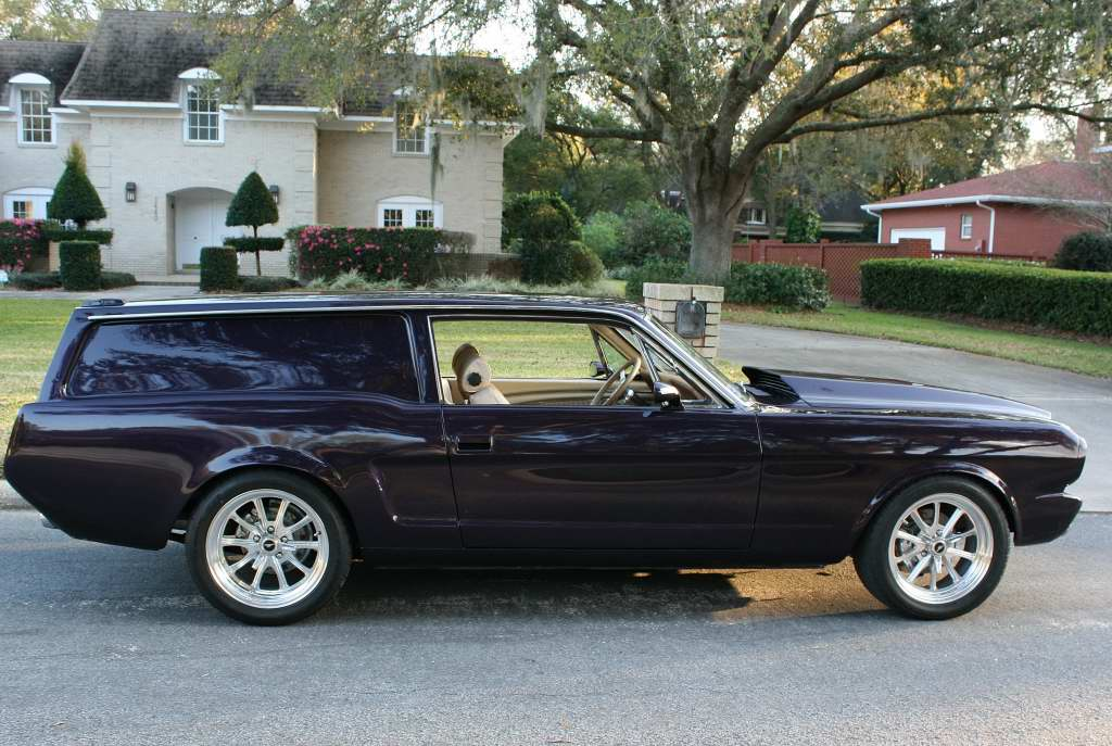 1966 Ford Mustang paired with Volvo 240DL wagon for unique 'sedan ...