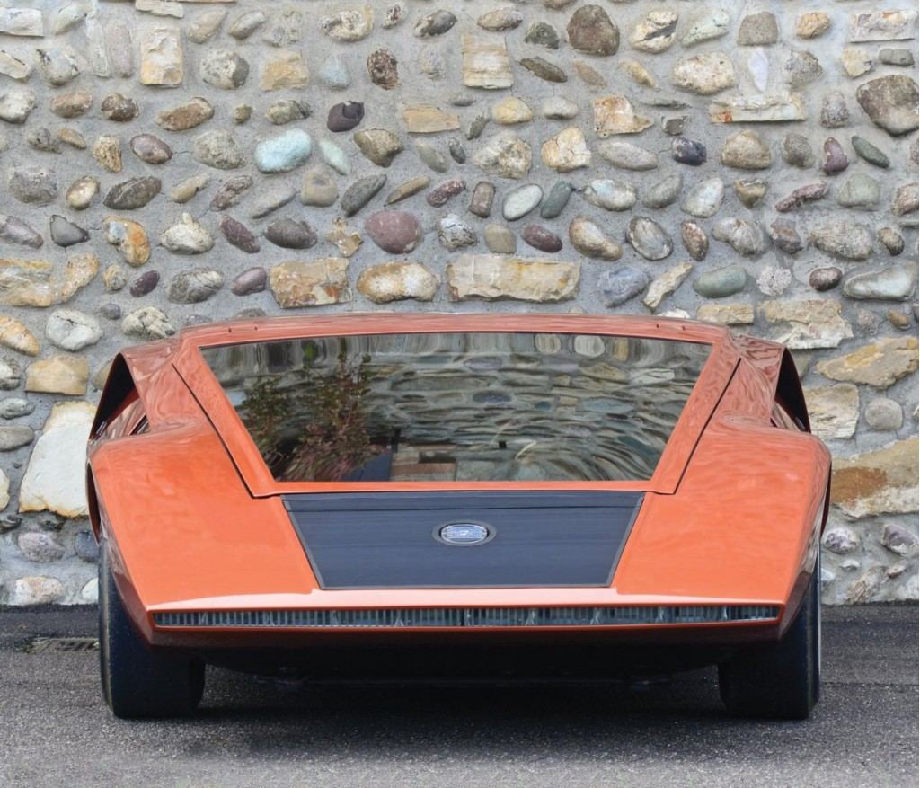 1970 bertone lancia stratos hf zero up for auction. Black Bedroom Furniture Sets. Home Design Ideas