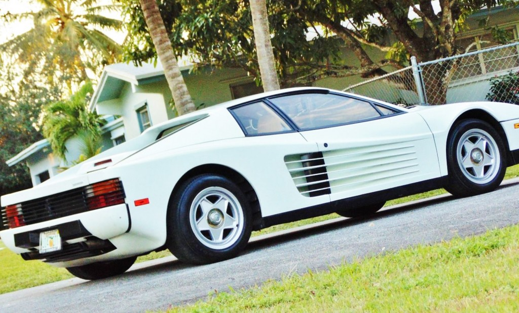 Ferrari Testarossa From Miami Vice Found On Ebay