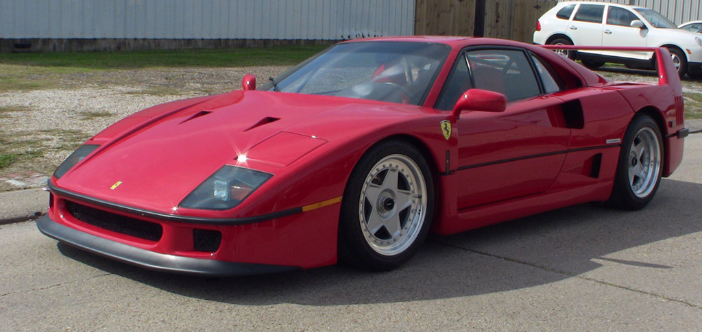 Mini Supercars For Sale >> eBay Watch: Ferrari F40 With Buy It Now Price Of $595,000