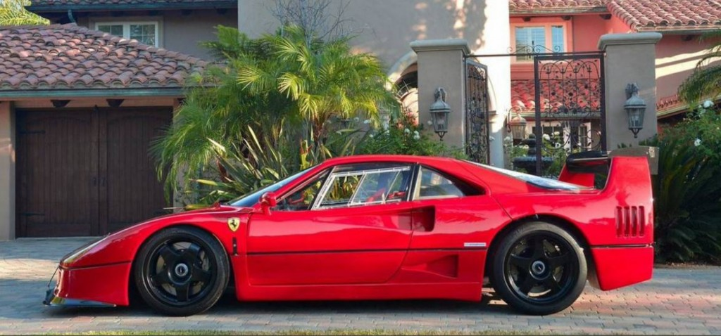 Car Of The Day Converted Ferrari F40 Lm Street Legal