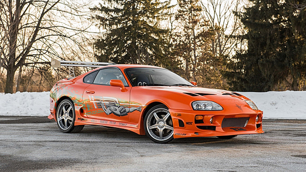 Toyota Supra Driven By Paul Walker In 2001 S The Fast And