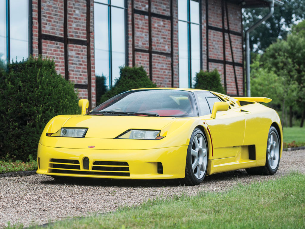 Chris Harris Spends Time With Bugatti S Eb110 Super Sport