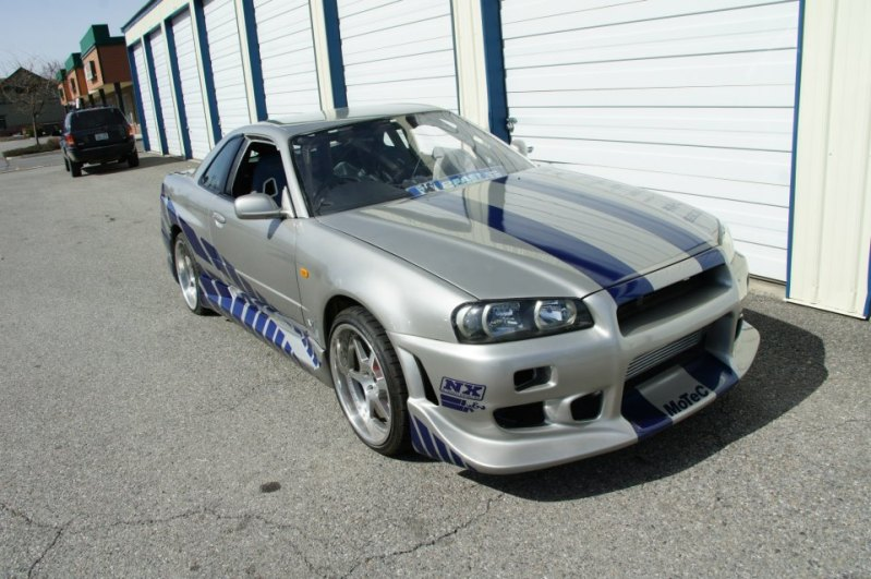 2 Fast 2 Furious Skyline Gt R R34 For Sale On Craigslist