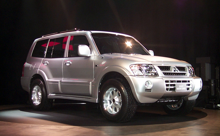 2003 Mitsubishi Montero Pictures Photos Gallery