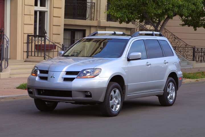 2003 mitsubishi outlander pictures photos gallery. Black Bedroom Furniture Sets. Home Design Ideas