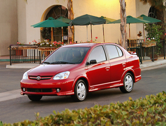 2003 toyota echo owners manual