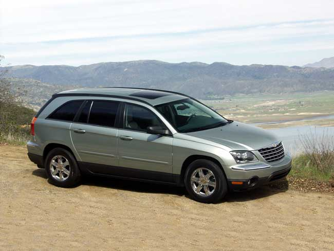 2004 chrysler pacifica pictures photos gallery green car. Black Bedroom Furniture Sets. Home Design Ideas
