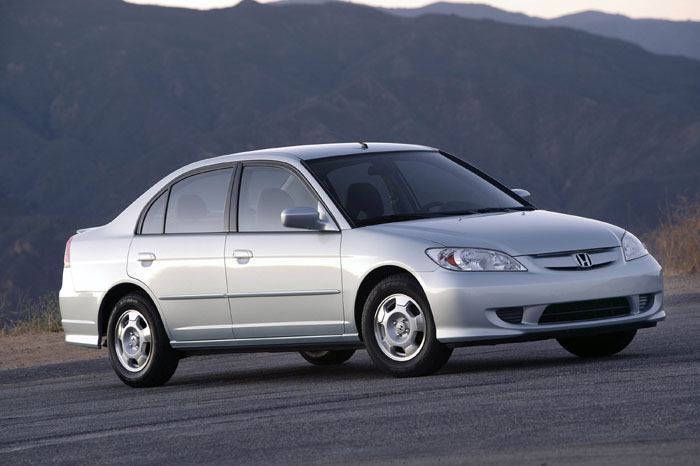 2004 Honda Civic Hybrid Page 1 Review The Car Connection