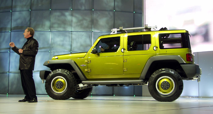 Rescue Green Jeep >> Jeep Concepts at Easter Jeep Safari - Page 2 - Toyota FJ ...