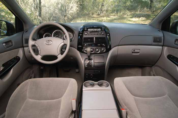 Toyota Sienna 2010 The Most Choice 2004 Toyota Sienna LE