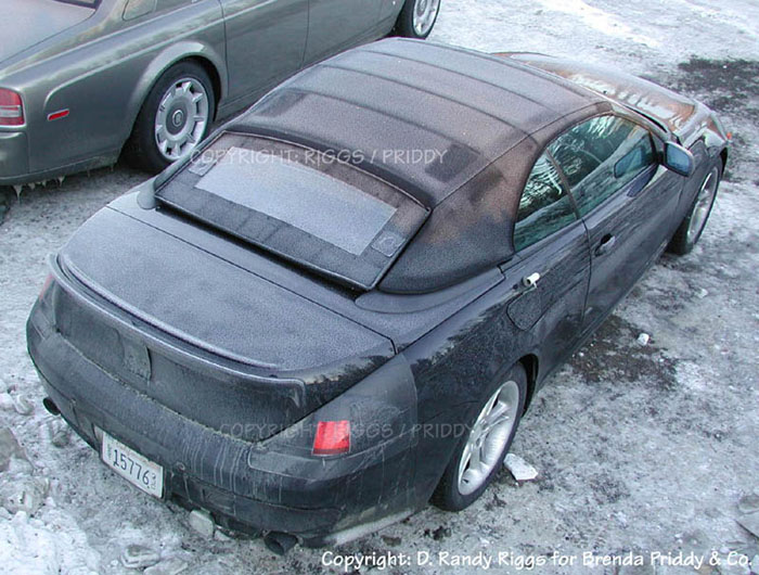 2005 BMW 6-Series Cabriolet spy shot