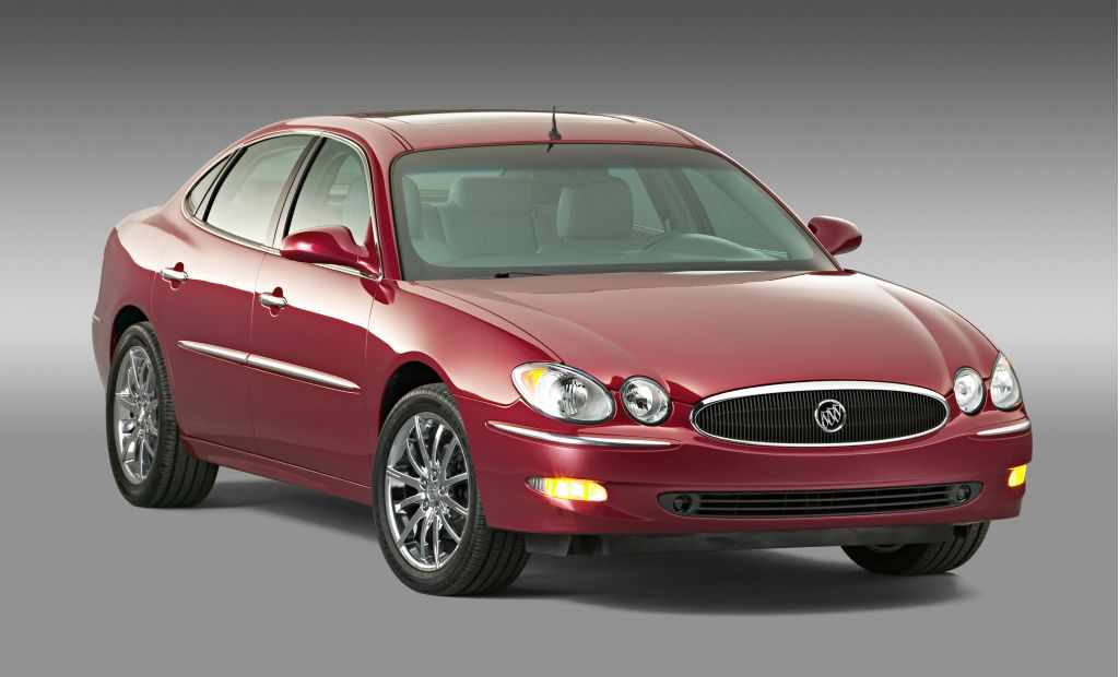 Buick Lacrosse L on 2007 Buick Lacrosse Cx Sedan