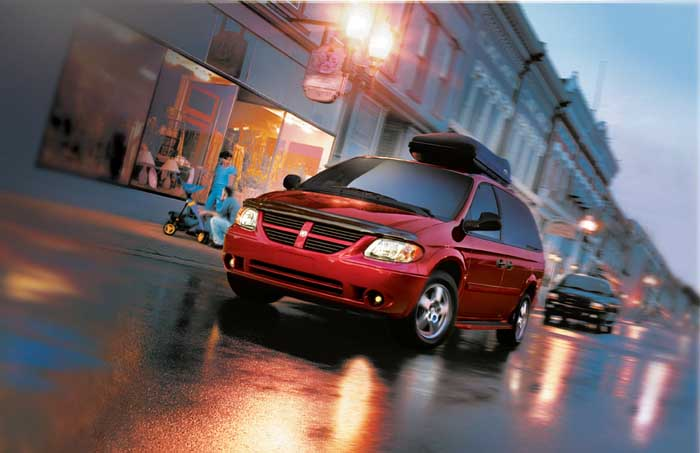 2005 Chrysler minivans