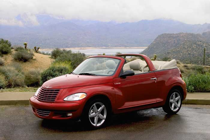 image 2005 chrysler pt cruiser convertible size 700 x. Black Bedroom Furniture Sets. Home Design Ideas