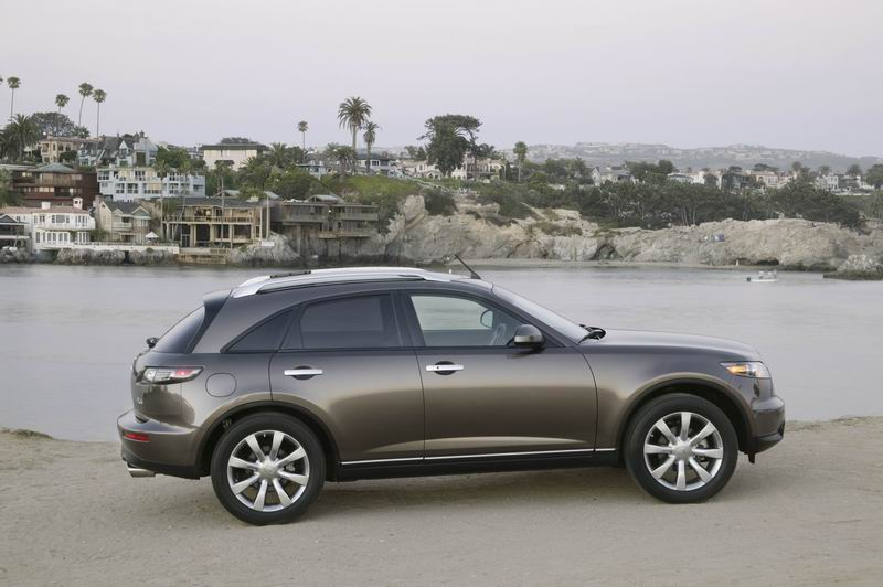 2005 Infiniti Fx45 Pictures Photos Gallery The Car