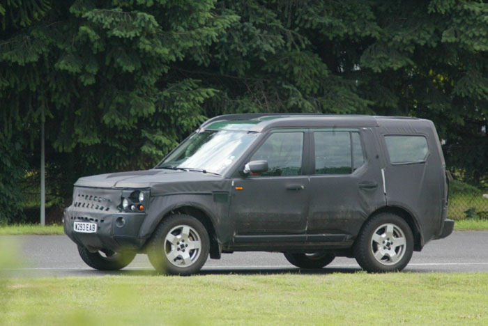 2005 Land Rover Discovery spy