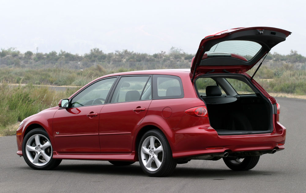 Image 2005 Mazda6 Sport Wagon Rear Door Open Size 1000 X 631 Type Gif Posted On