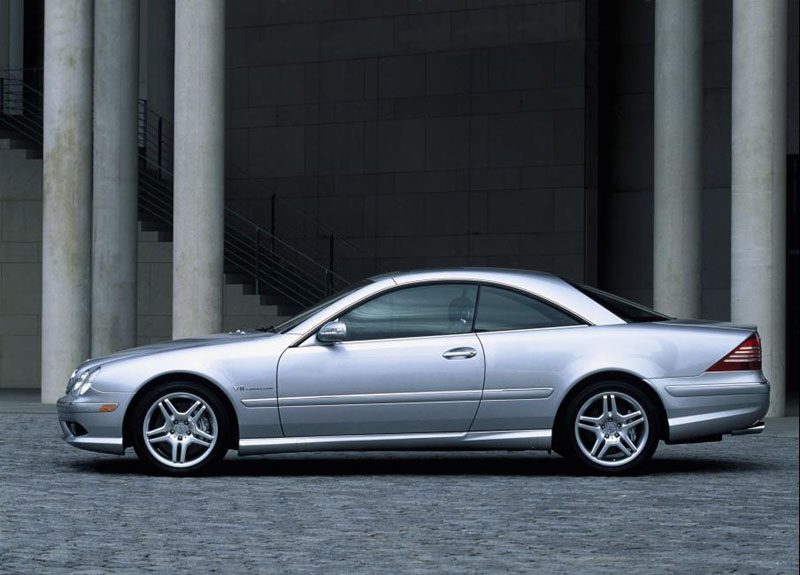 2003 Mercedes Benz Cl55 Amg. 2005 Mercedes-Benz CL55 AmG