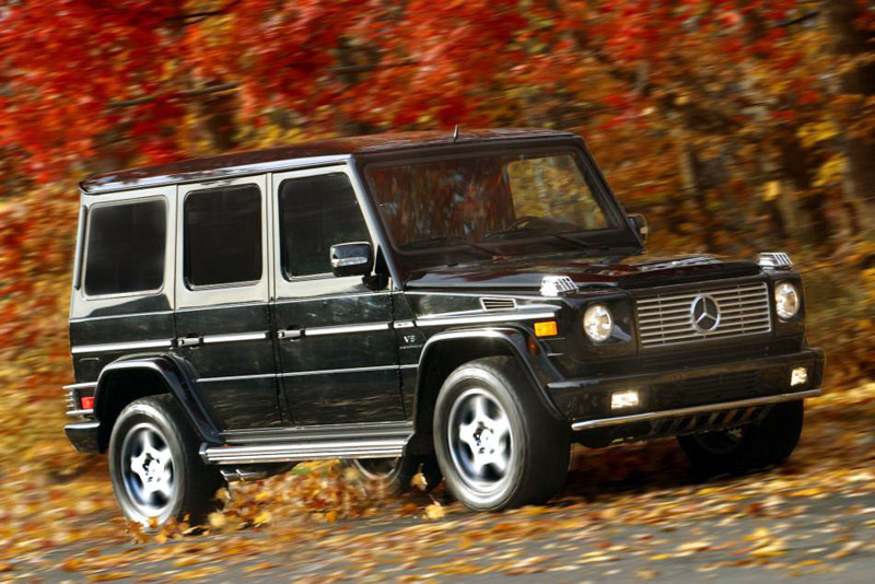 Mercedes benz the car connection for 2005 mercedes benz g55 amg