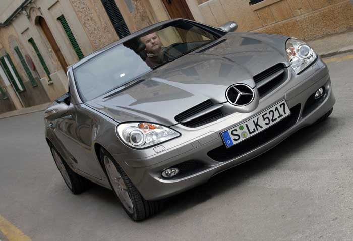 image 2005 mercedes benz slk 350 size 700 x 478 type. Black Bedroom Furniture Sets. Home Design Ideas