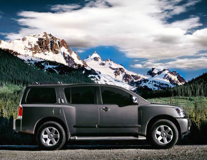 2005 nissan armada pictures photos gallery the car connection. Black Bedroom Furniture Sets. Home Design Ideas