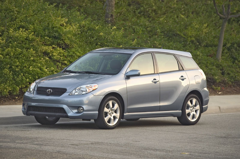 2005 Toyota Matrix Pictures Photos Gallery Green Car Reports