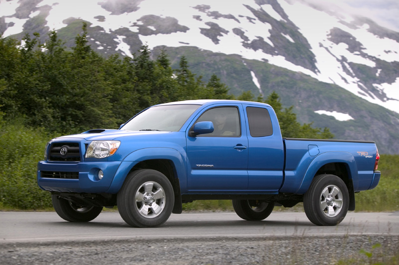 2005 Toyota Tacoma Pictures Photos Gallery Green Car Reports