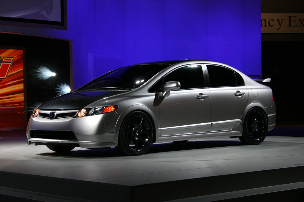 2006 Honda Civic Si Sedan concept, , Chicago Auto Show