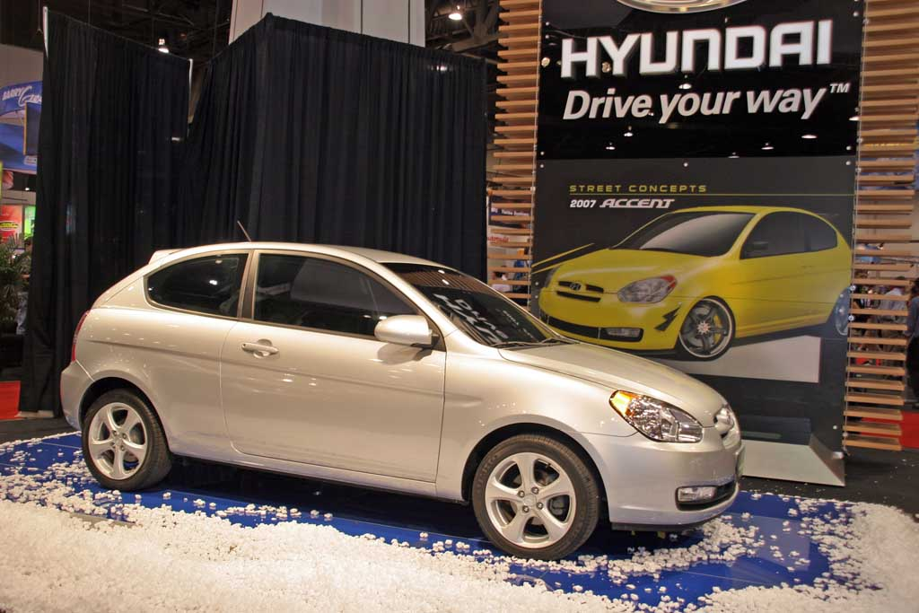 image 2006 hyundai accent chicago auto show size 1024. Black Bedroom Furniture Sets. Home Design Ideas