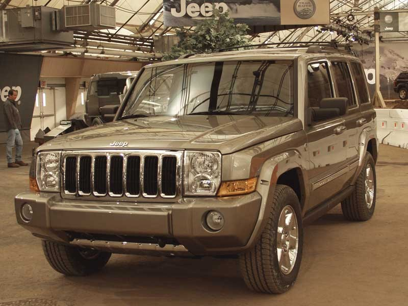 2006 Jeep Commander Limited 2wd: 2007 Jeep Commander Pictures/Photos Gallery