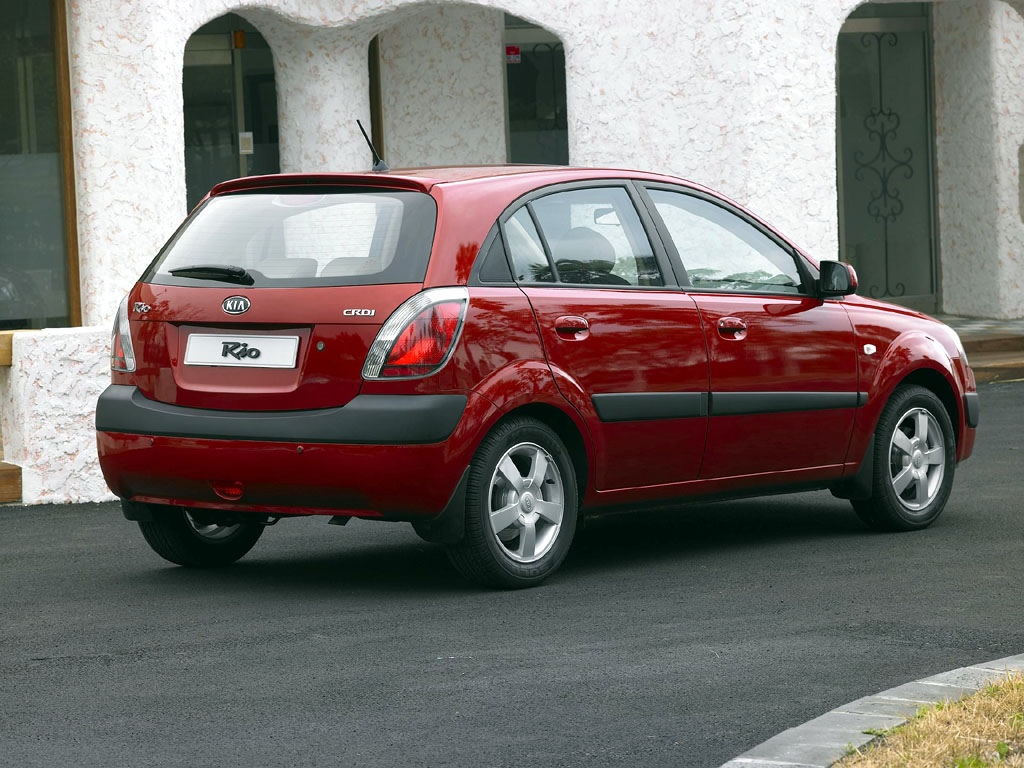 2006 Kia Rio Pictures Photos Gallery Motorauthority