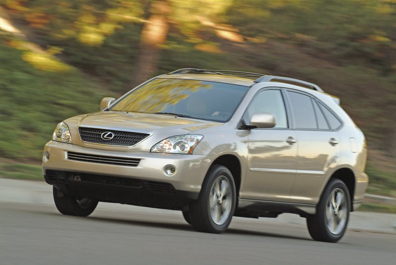 2006 lexus rx330 400h the car connection. Black Bedroom Furniture Sets. Home Design Ideas