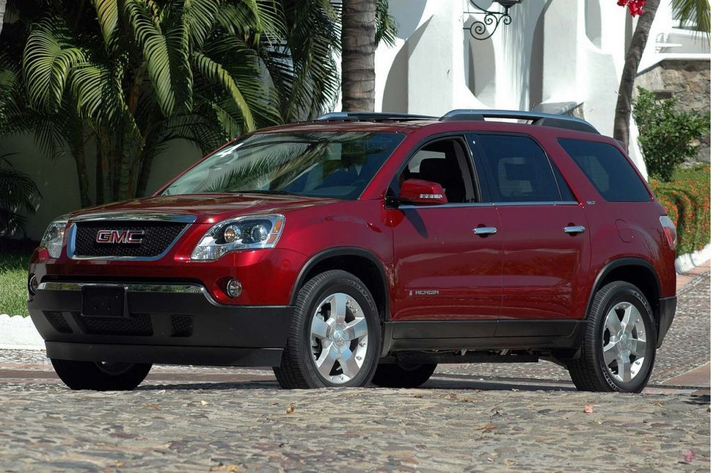 2007 gmc acadia pictures photos gallery motorauthority. Black Bedroom Furniture Sets. Home Design Ideas
