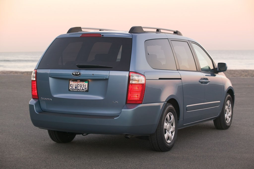 2007 Kia Sedona Pictures Photos Gallery Motorauthority