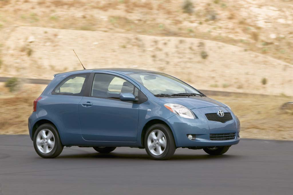 2007 toyota yaris pictures photos gallery green car reports. Black Bedroom Furniture Sets. Home Design Ideas